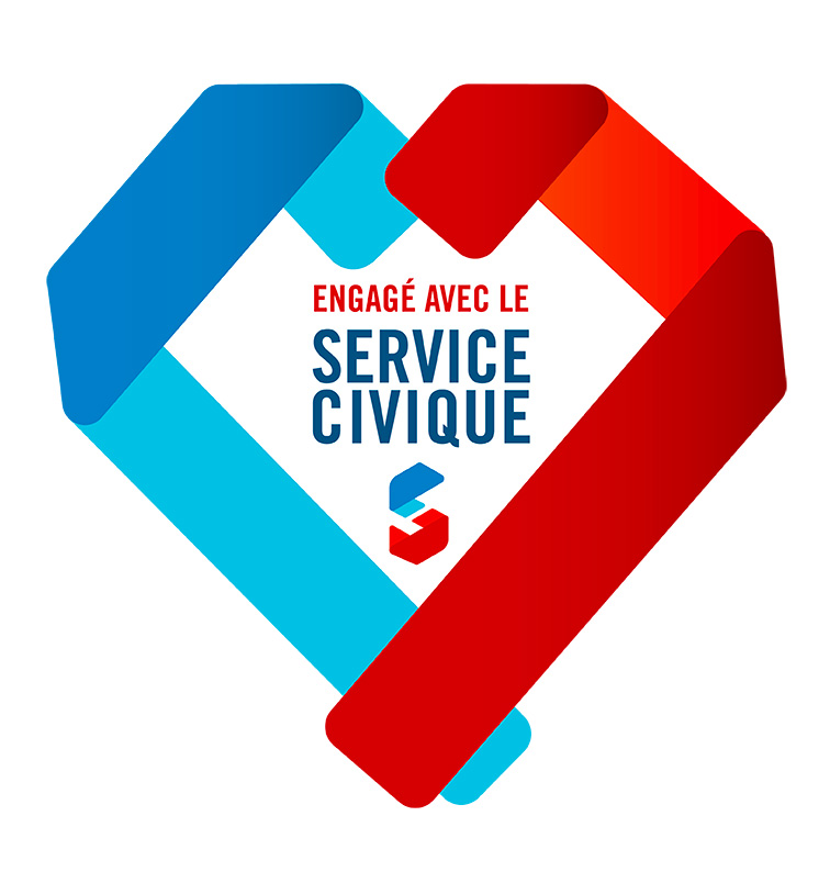 Logo Service civique